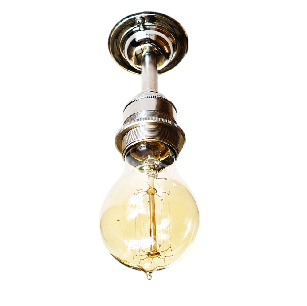 South Yardley ceiling light : brass, nickel + bronze