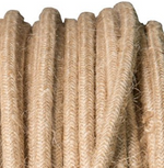 Hessian covered 3 core cord