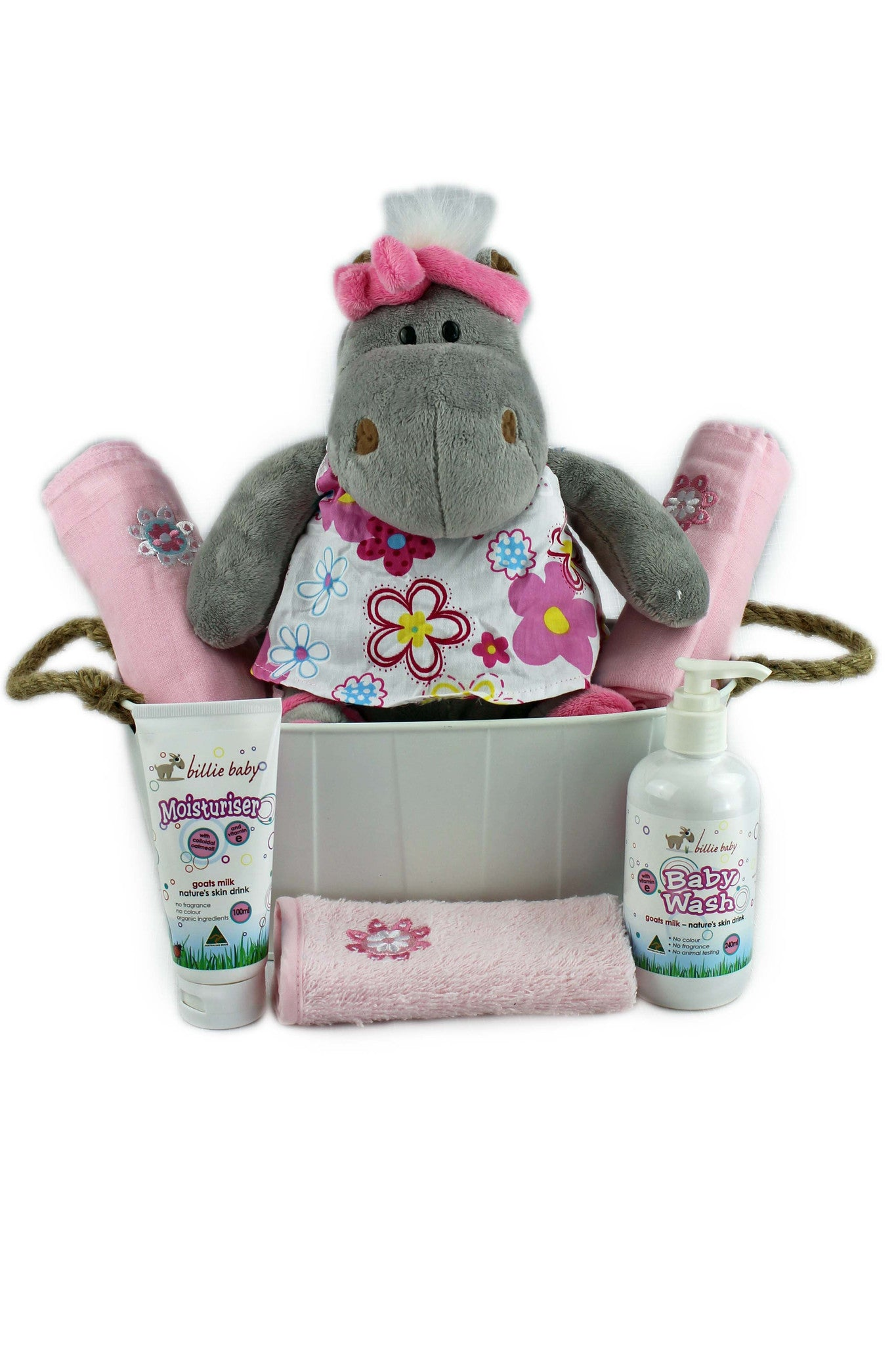 Hippo and Billie for Baby Girl
