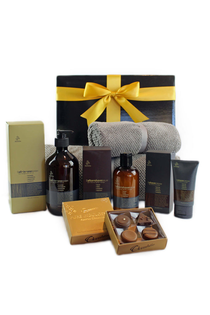 Adore gift baskets gift boxes and gift hampers toowoomba his daily essentials negle