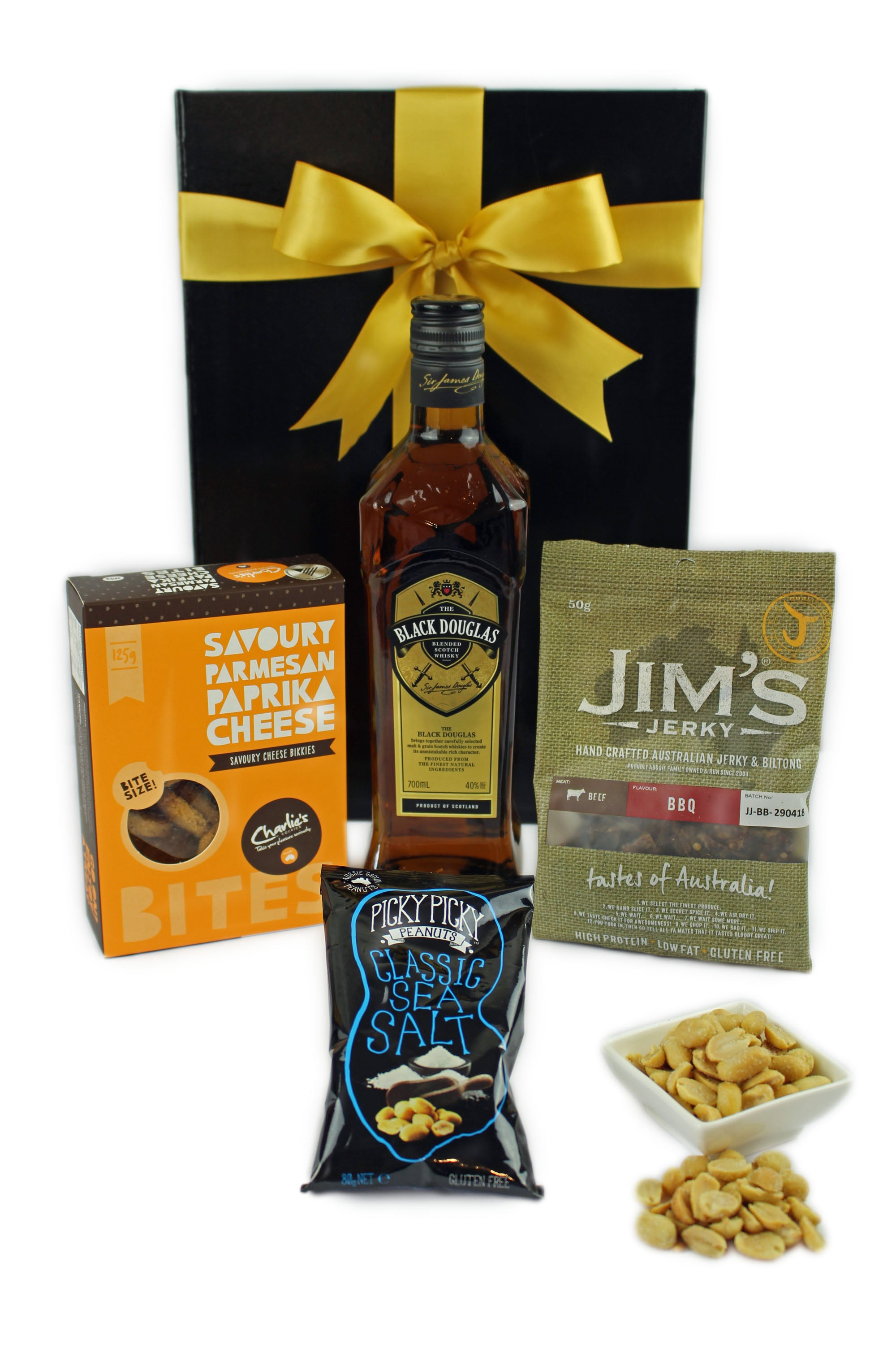 Black Douglas Hamper