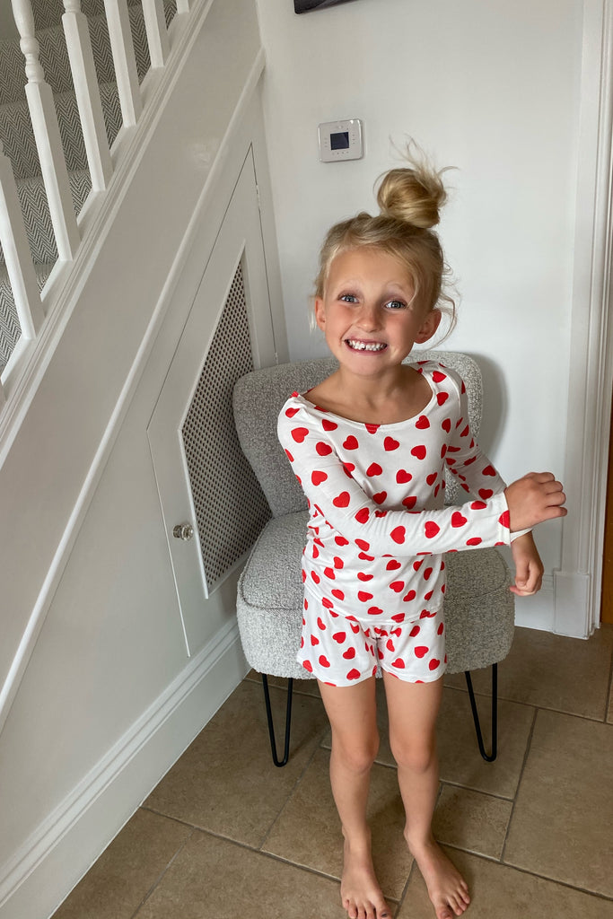 MYNELLY CHILDS RED HEART PJS
