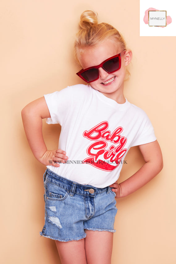 CHILDS  BABY GIRL TEE SHIRT