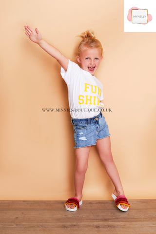 CHILDS FUN SHINE TEE SHIRT