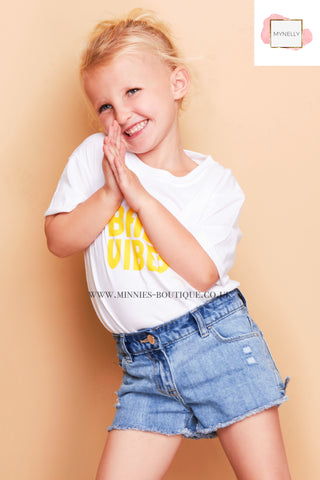 CHILDS BABY VIBES TEE SHIRT