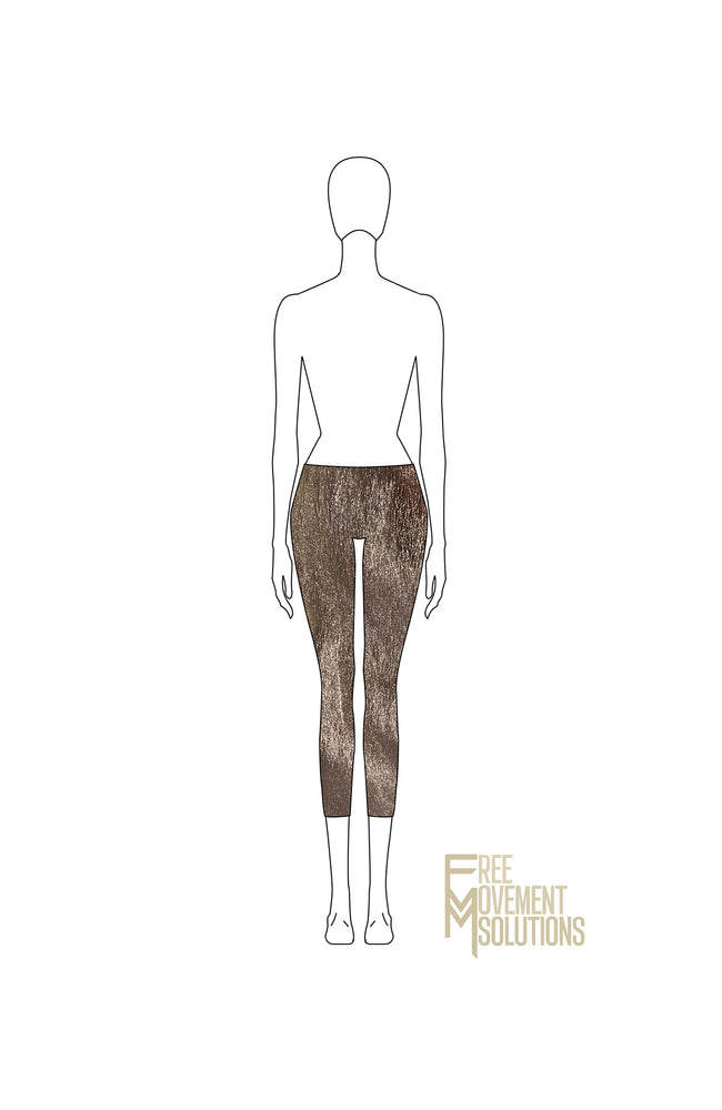 Load image into Gallery viewer, Low Waisted Capri Length Leggings