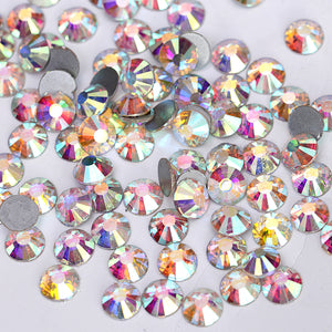Load image into Gallery viewer, Rhinestone Crystal AB Colour SS6-SS50 Flatback