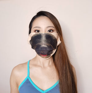 Doggie Smile Transformation Face Mask