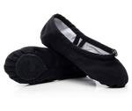 Split Sole Canvas Ballet Shoes