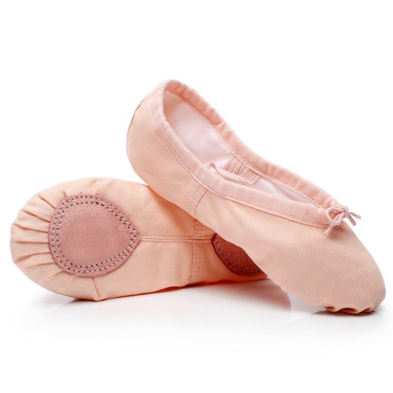 Load image into Gallery viewer, Split Sole Canvas Ballet Shoes
