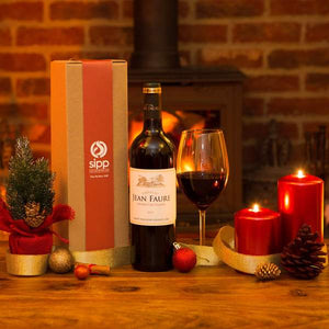 Gift-wrapped Premium Red Wine Box - sipp