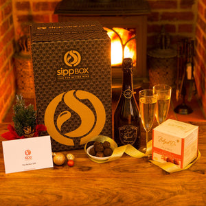 Luxury Champagne & Chocolates Gift Box - sipp