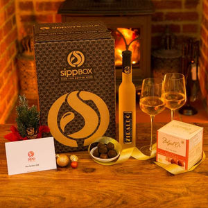 Ice Wine & Chocolates Gift Box - sipp