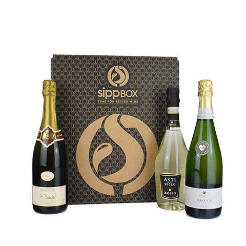 3 BOTTLE 'BUBBLY BOX' - sipp