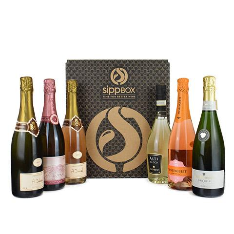 6 BOTTLE 'BUBBLY BOX' - sipp