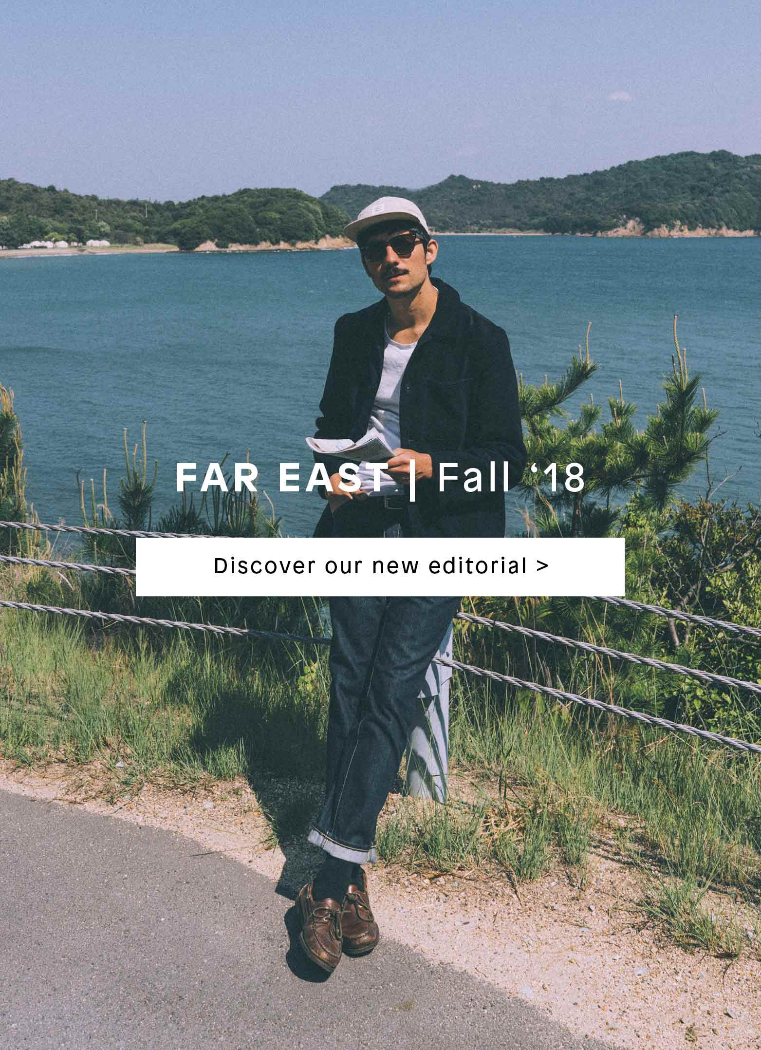 Japan Fall'18 Edito by Bellerose in collaboration with Coke Bartrina