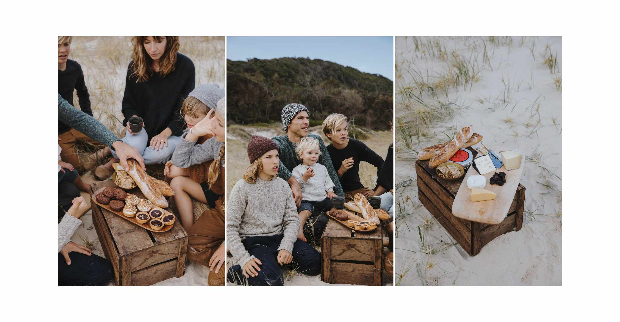 Kids Fall Winter'18 The Simple Life beach picnic Bellerose