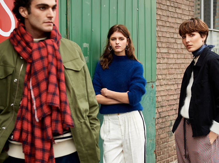 Bellerose Fall Winter'18 Office Hours outfit for women and men
