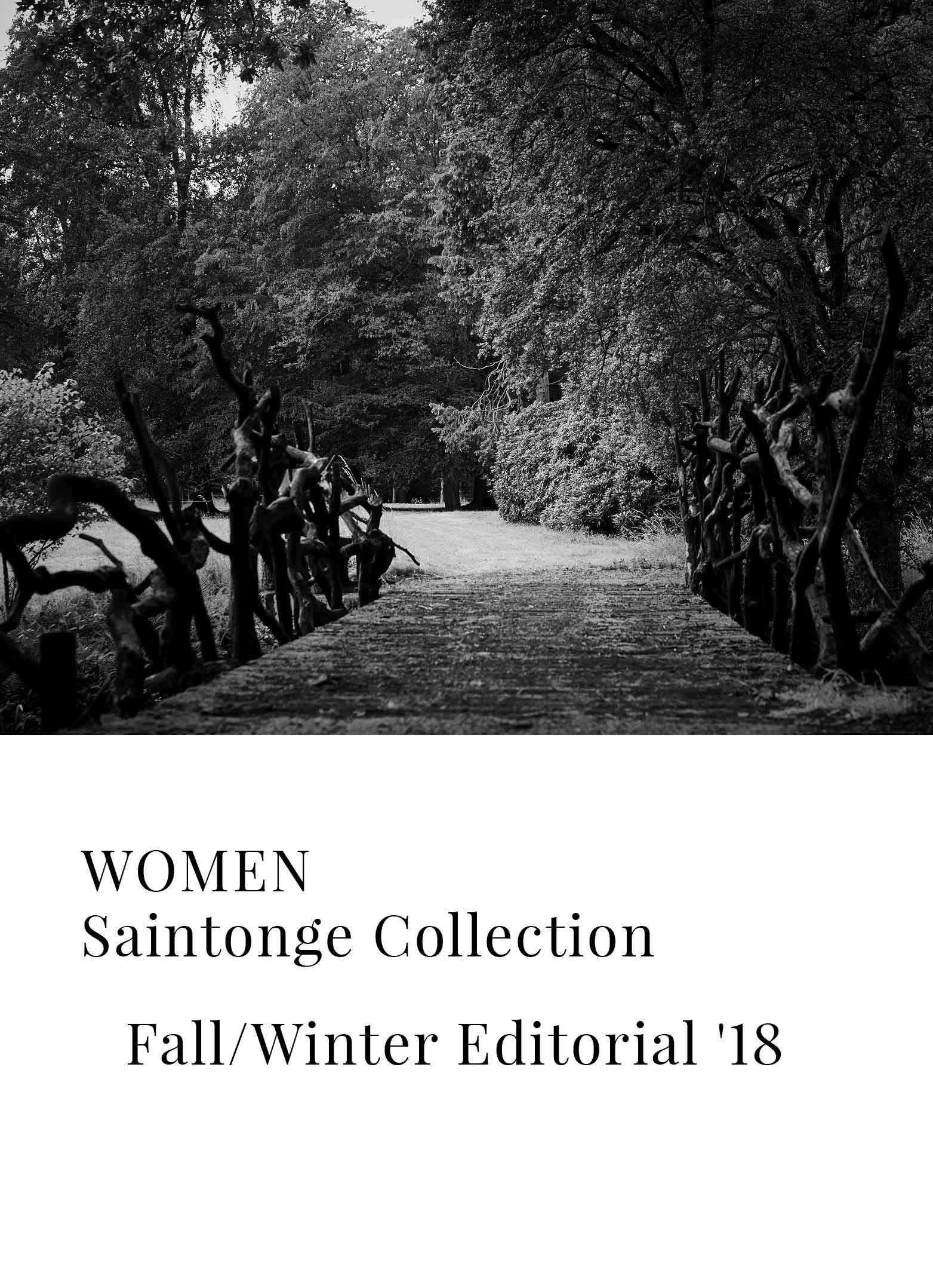 Bellerose Fall Winter'18 Saintonge La Forêt collection for women
