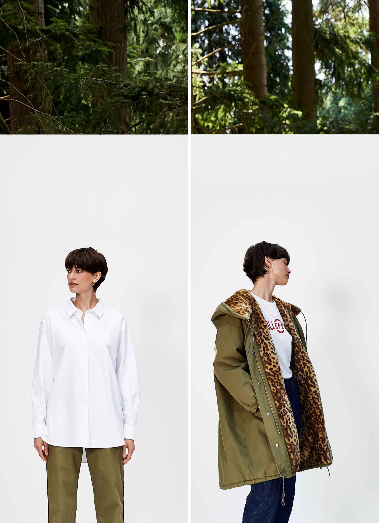 Bellerose FW'18 Saintonge white shirt for women