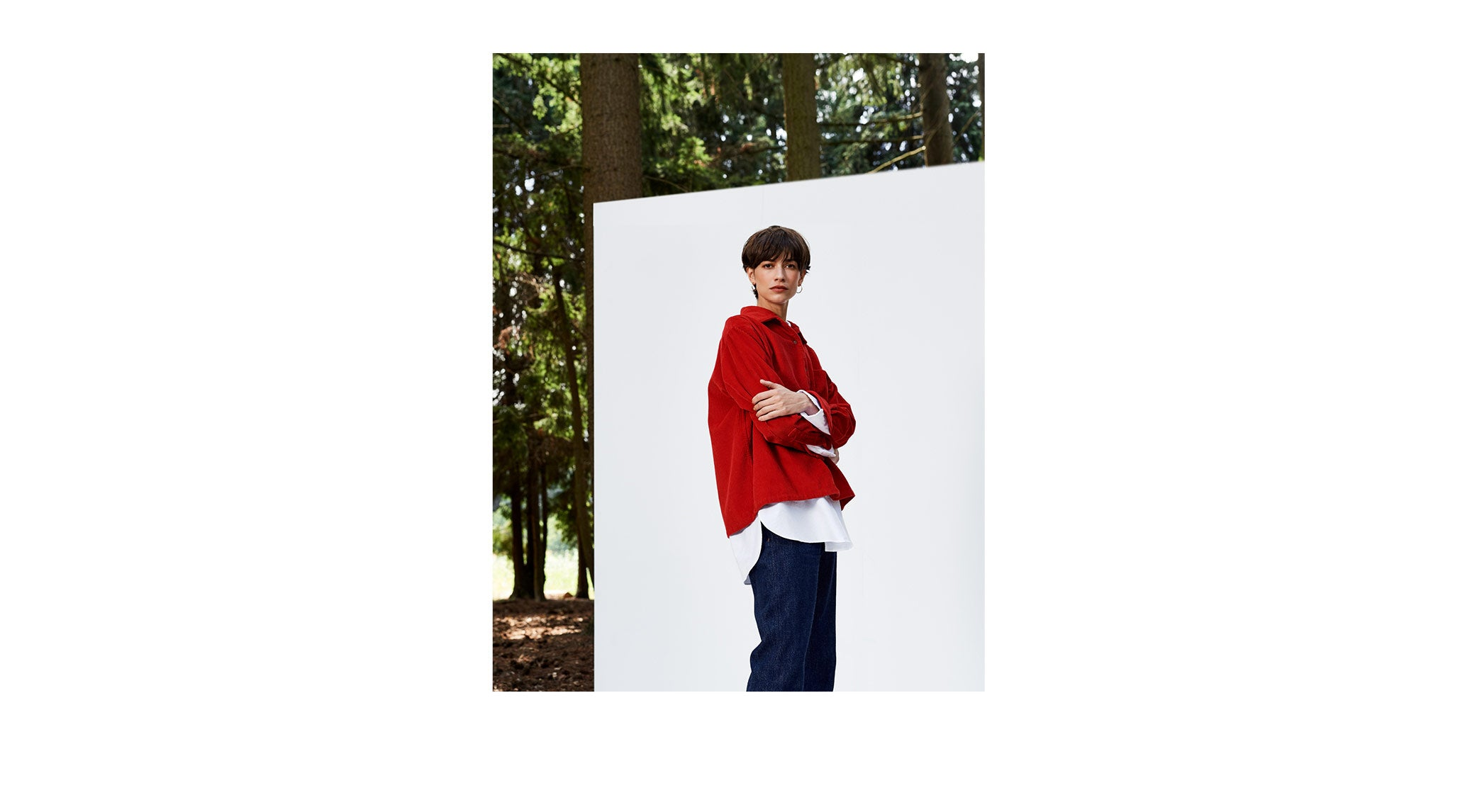 Bellerose FW'18 Saintonge red jacket for women