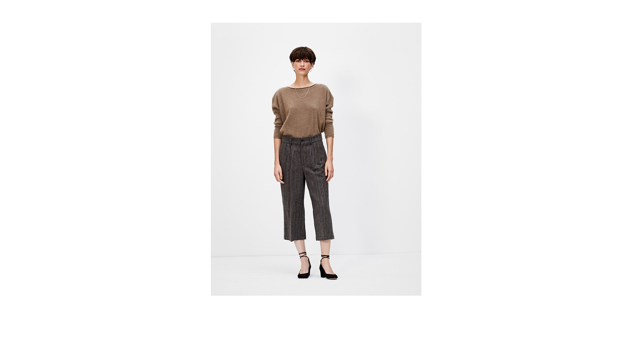 Bellerose FW'18 Saintonge pants and knitwear for women