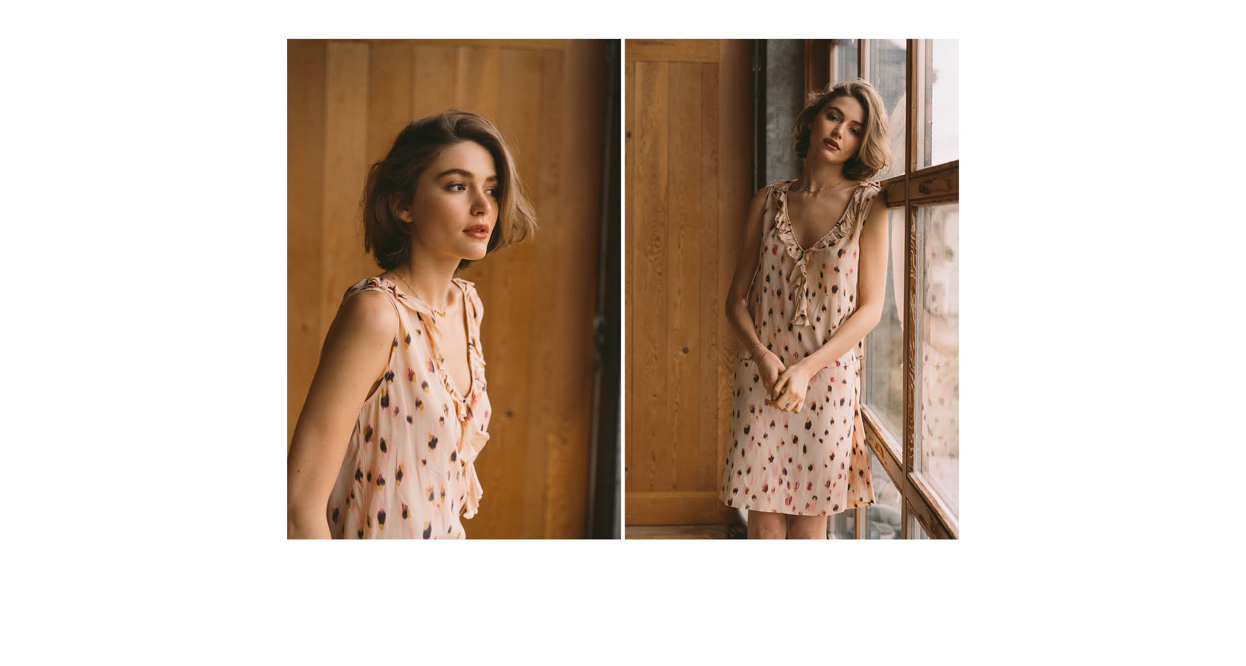 Women SS'19 Stopover V neck pink dress Bellerose