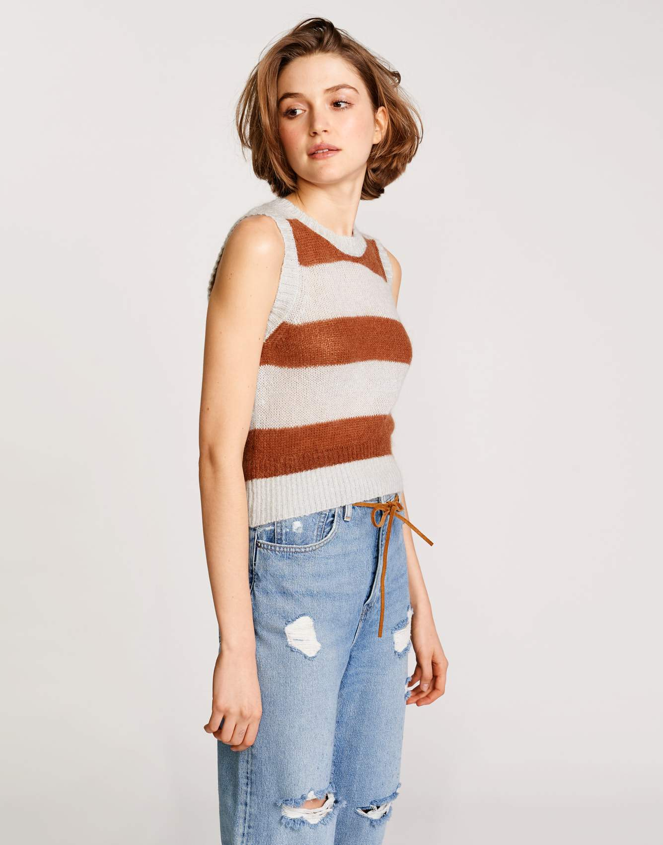 Bellerose cotton and mohair blend knitwear for women