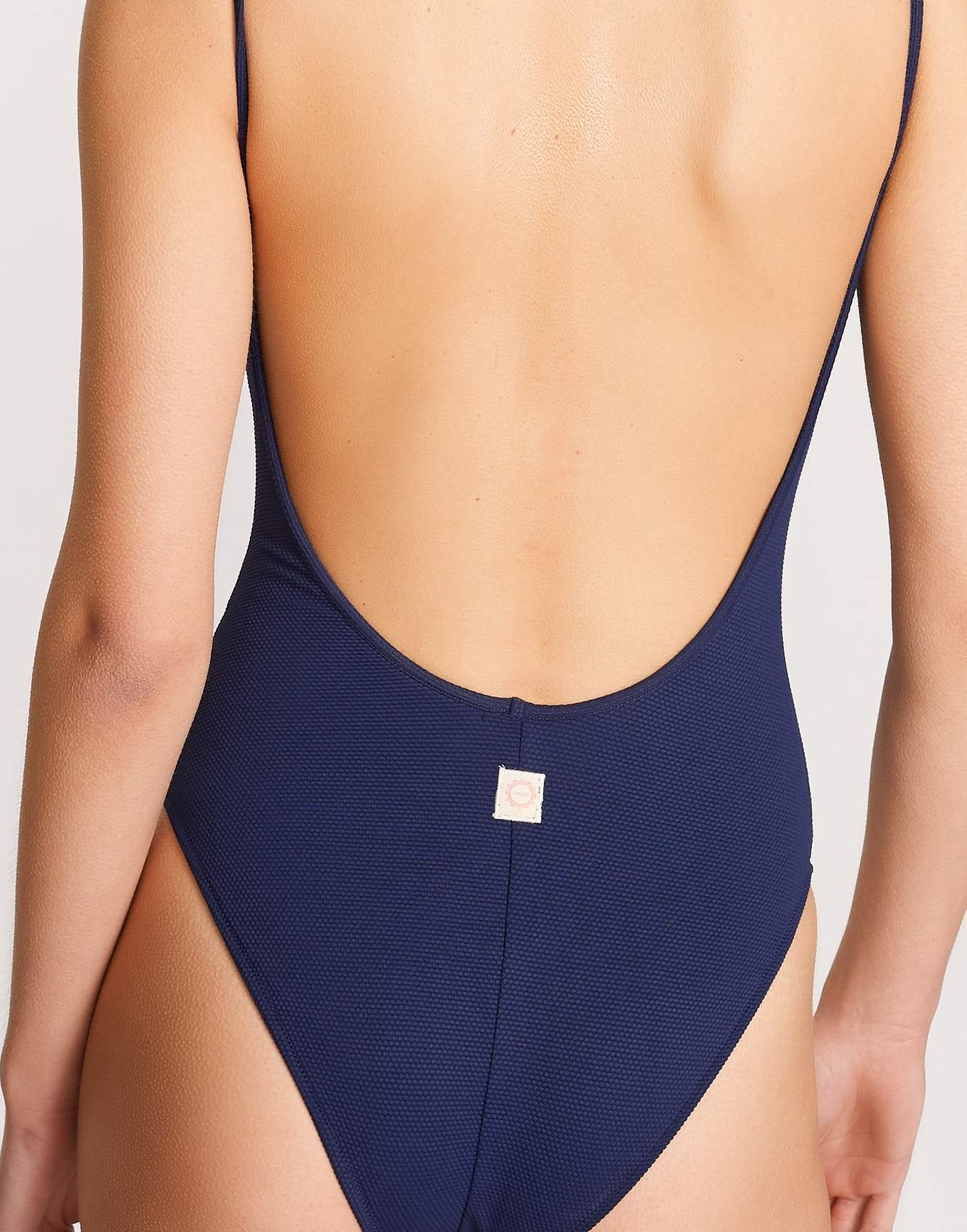 Bohodot navy 1-piece swimsuit for women on Bellerose official webshop