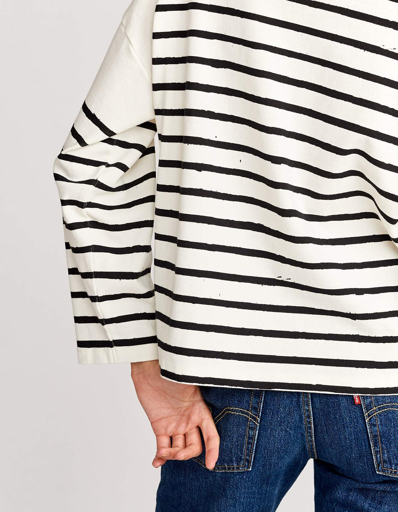 Bellerose oversized boatneck t-shirt for women