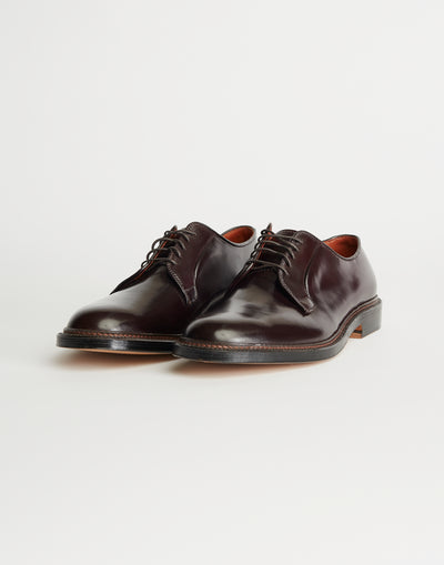 ALDEN | PLAIN TOE BLUCHER SHOES