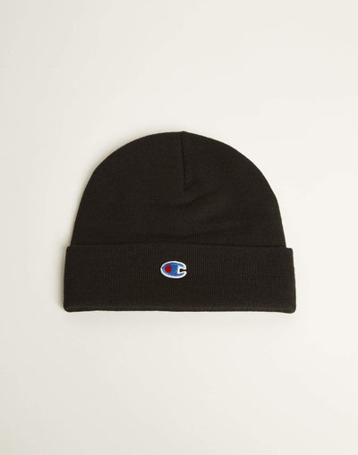 CHAMPION | BLACK BEANIE