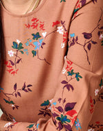 Bellerose brown flowery print dress for women
