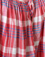 Bellerose pink checked cotton loose fit shirt for women