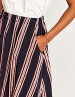 Bellerose flared striped skirt for women