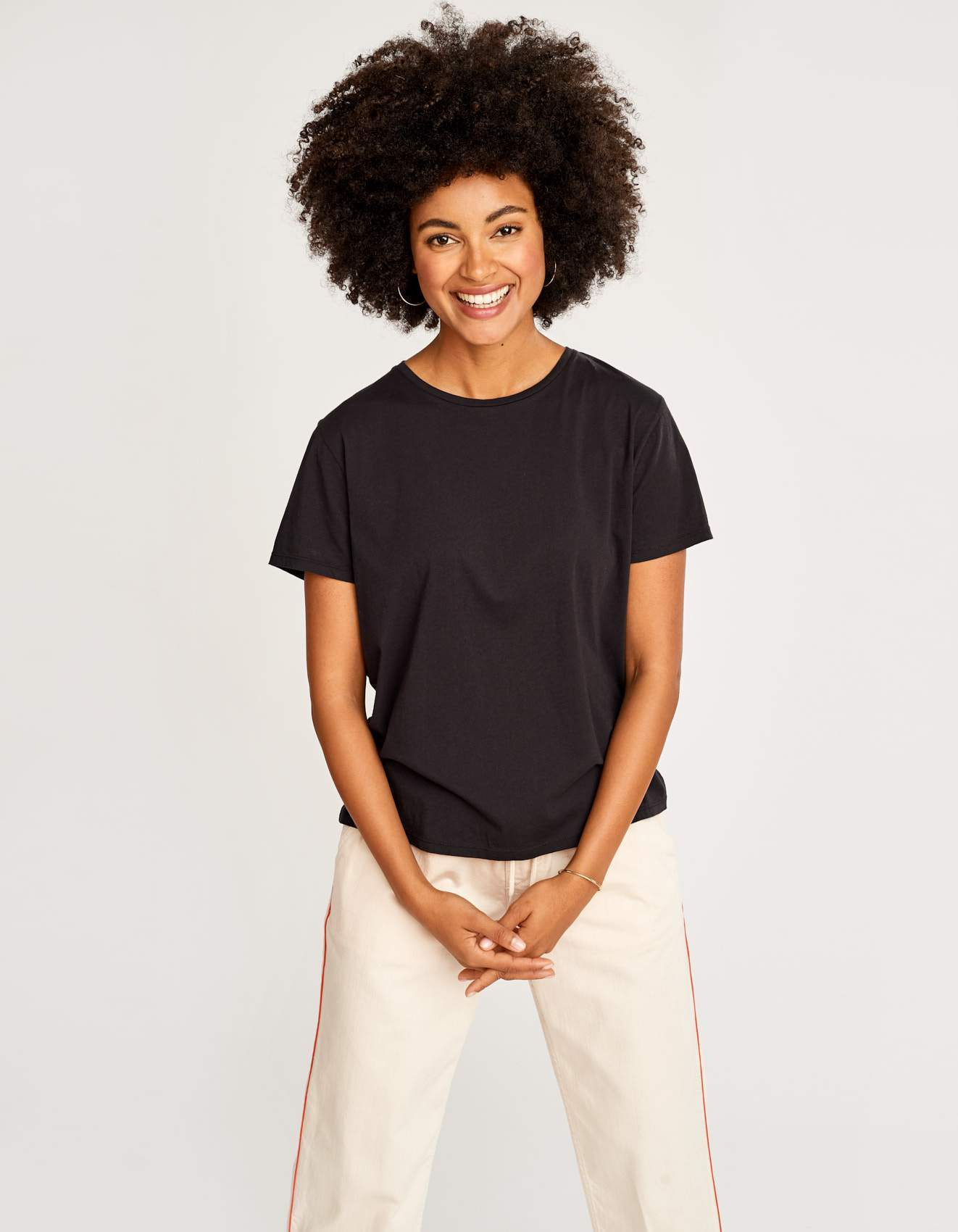 Bellerose short-sleeves black t-shirt for women