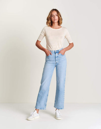 LEVIS | RIBCAGE STRAIGHT JEANS
