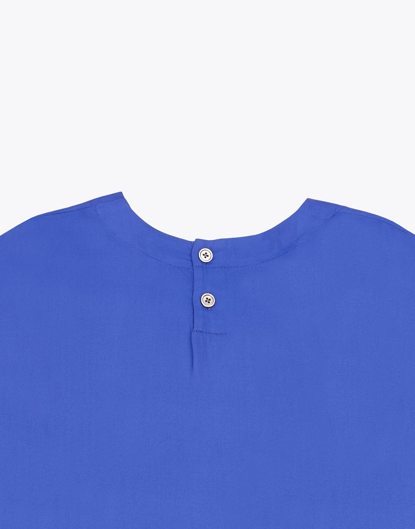 Bellerose 3/4 sleeves blue blouse for women