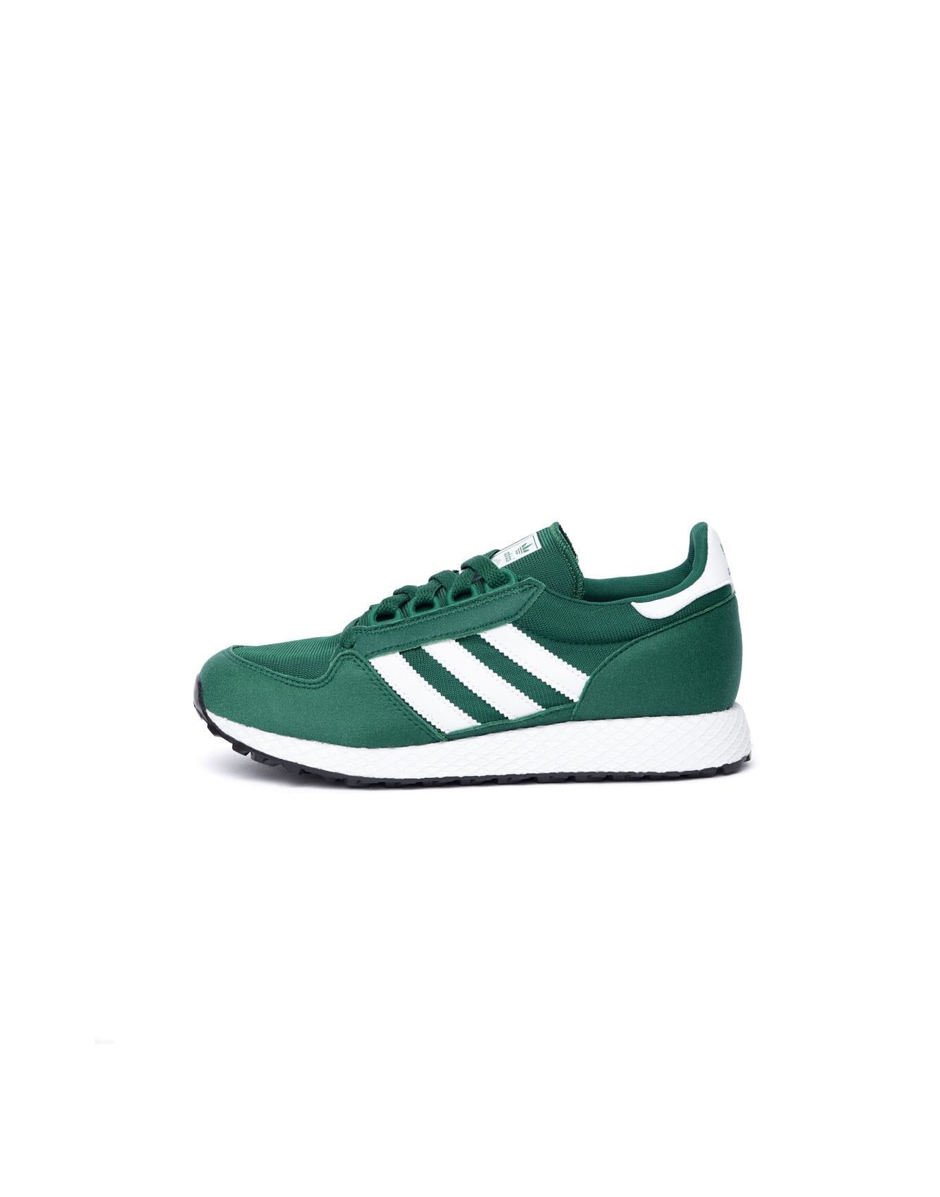 brand new 35287 8ddd7 Adidas green Forest Grove suede and nylon shoes for kids available at  Bellerose