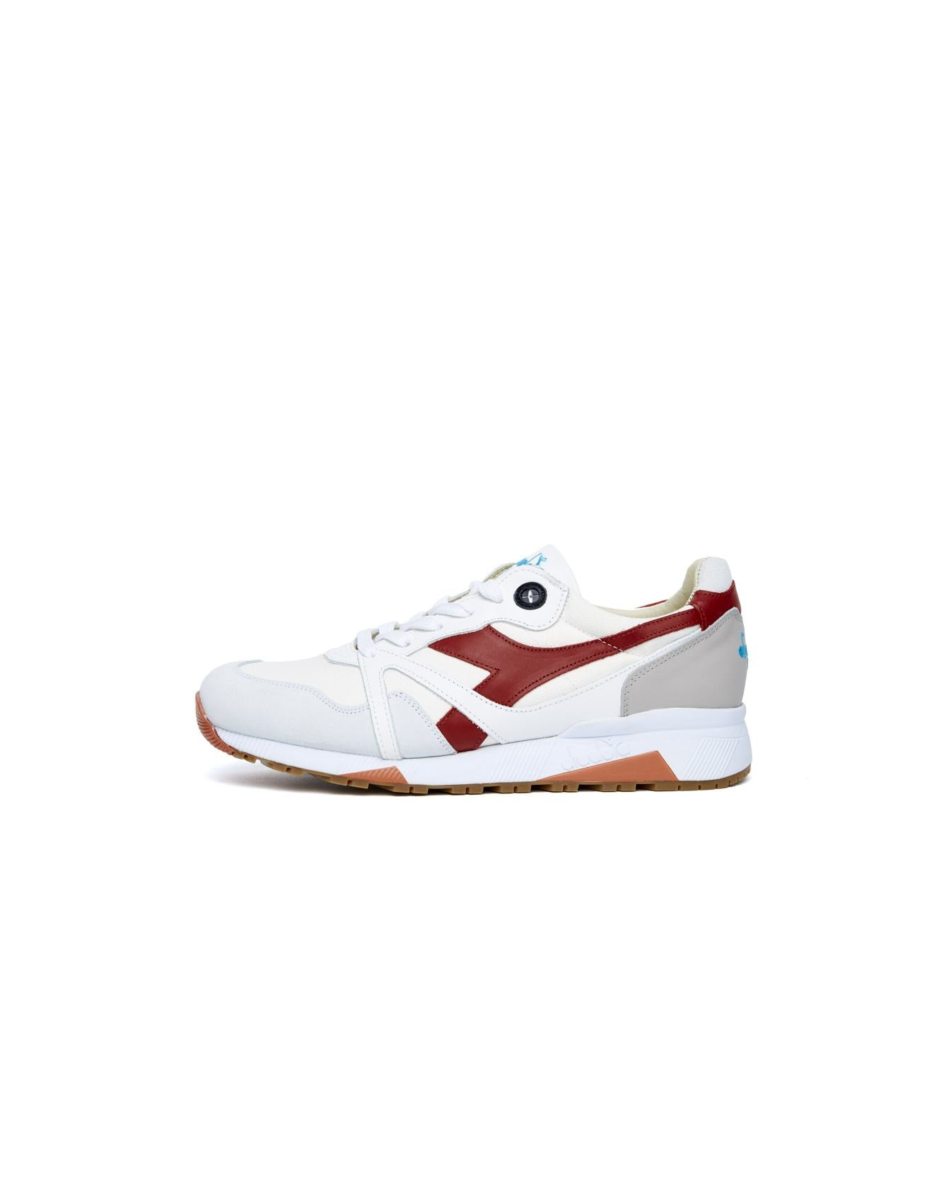 best service 584b6 b7f40 Diadora white nylon and leather sneakers for men on Bellerose official  webshop
