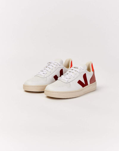 VEJA | V-10 LEATHER SHOES