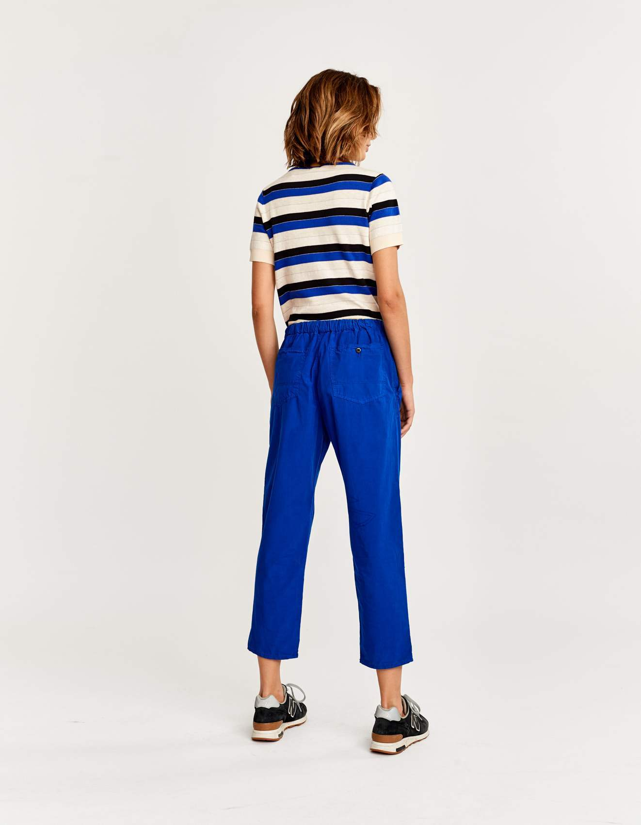 Bellerose blue workwear inpired pants for women