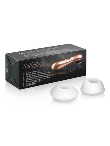 Image of Satisfyer Pro 2 Enhancer Tips -  - Passionzone Adult Store - 1