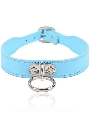 berlin baby collar blue
