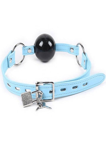 Image of berlin baby ball gag solid rubber ball