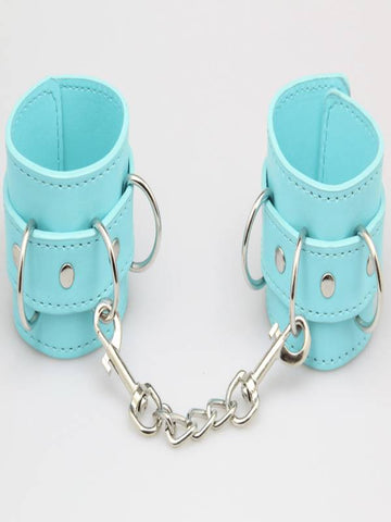 berlin baby wrist cuffs blue