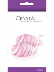 crystal glass eggs packaging