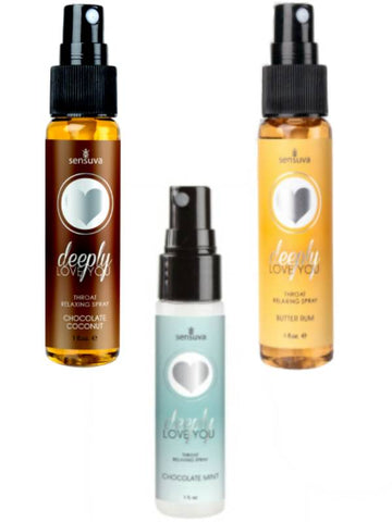 Image of deeply love you throat relaxing spray 3 flavours available