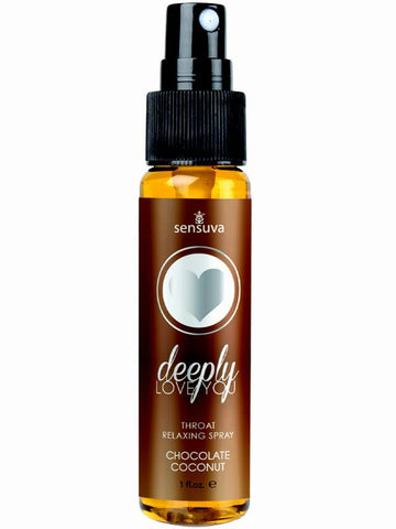 Image of deeply love you throat relaxing spray salted caramel