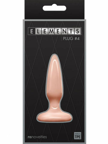 elements plug #4 flesh packaging